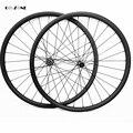 Новый 29er горный диск колеса симметричные 40x30 мм AM бескамерные колеса для велосипеда novatec D411SB D412SB 100X15 142X12 mtb карбоновые колеса