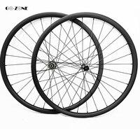 Neue 29er berg disc räder symmetrischen 40x30mm AM tubeless fahrrad rad novatec D411SB D412SB 100 X15 142X12 mtb carbon laufradsatz