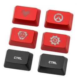 1 Pc Vervanging Verlicht Ctrl Key Cap Voor Logitech Mechanische Toetsenbord G810 G910 G413 G512 G Pro Persoonlijkheid Doorschijnende Keycap|Toetsenborden|   -