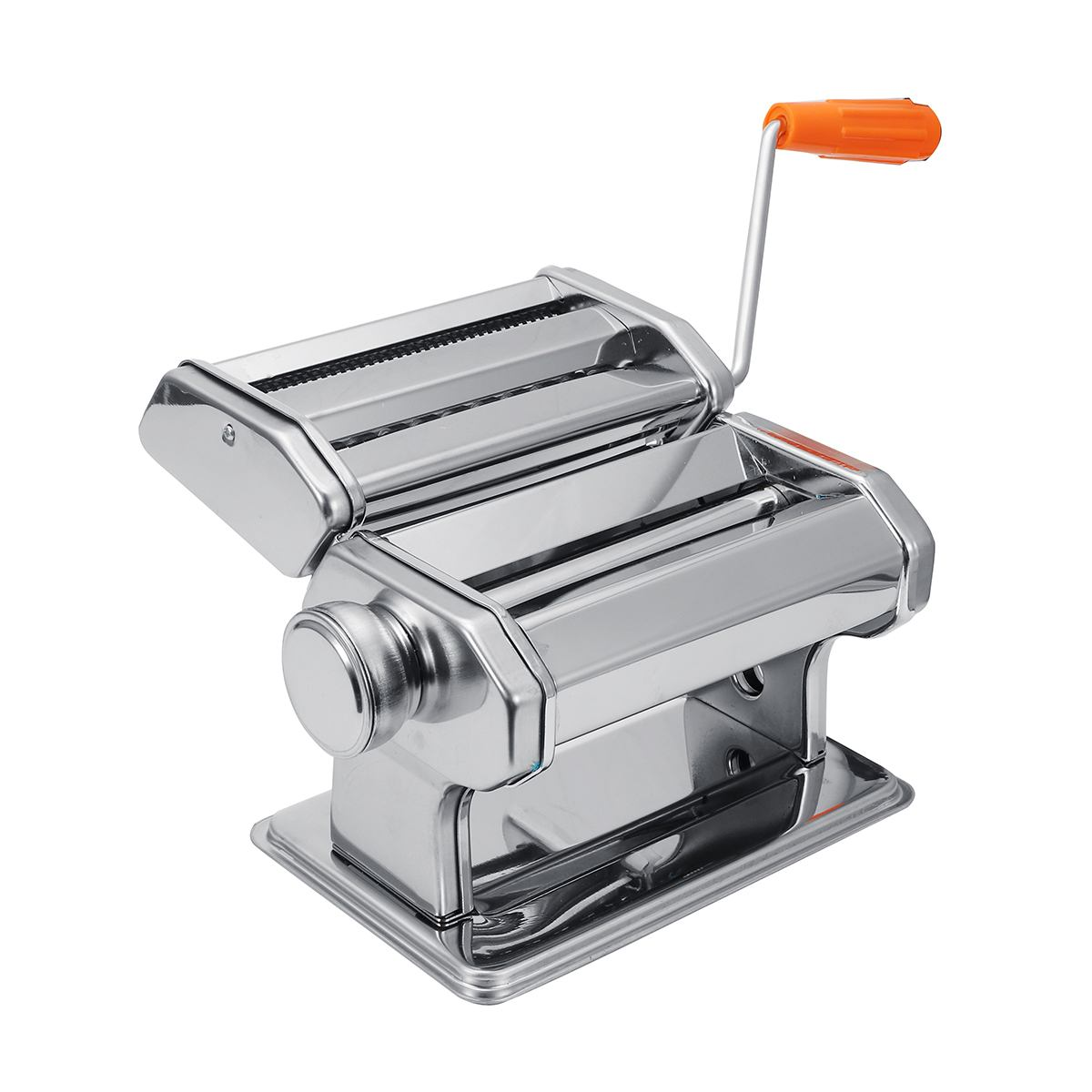 Stainless Steel Fresh Pasta Maker Roller Machine For Spaghetti Noodle Fettuccine Dumpling Maker Noodle-Maker Roller-Machine