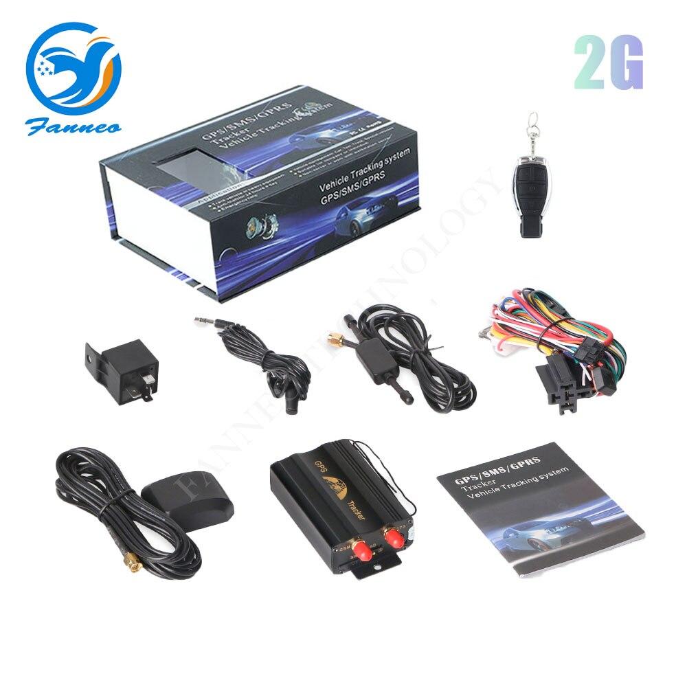 Rastreador gps para coche clásico TK103 gsm, dispositivo de pista de escucha tk103A TK103B, mini gps potente, localizador de seguimiento en tiempo real para vehículo GPS BEIDOU 2020, bloqueador de interferencias de señal, ANTI rastreador, sin seguimiento, funda de acecho