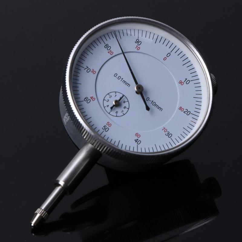 preciso 0.01mm resolução indicador de medição instrumento ferramenta dial calibre