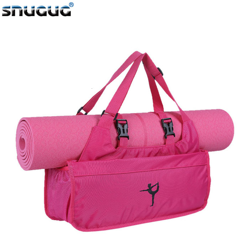 Fashion Yoga Bag Nylon Women Sport Bag Shoes 2019 Lady Fitness Bag For Gym Women New Yoga Mat Bag Bolsa De Yoga Bolsa Yoga