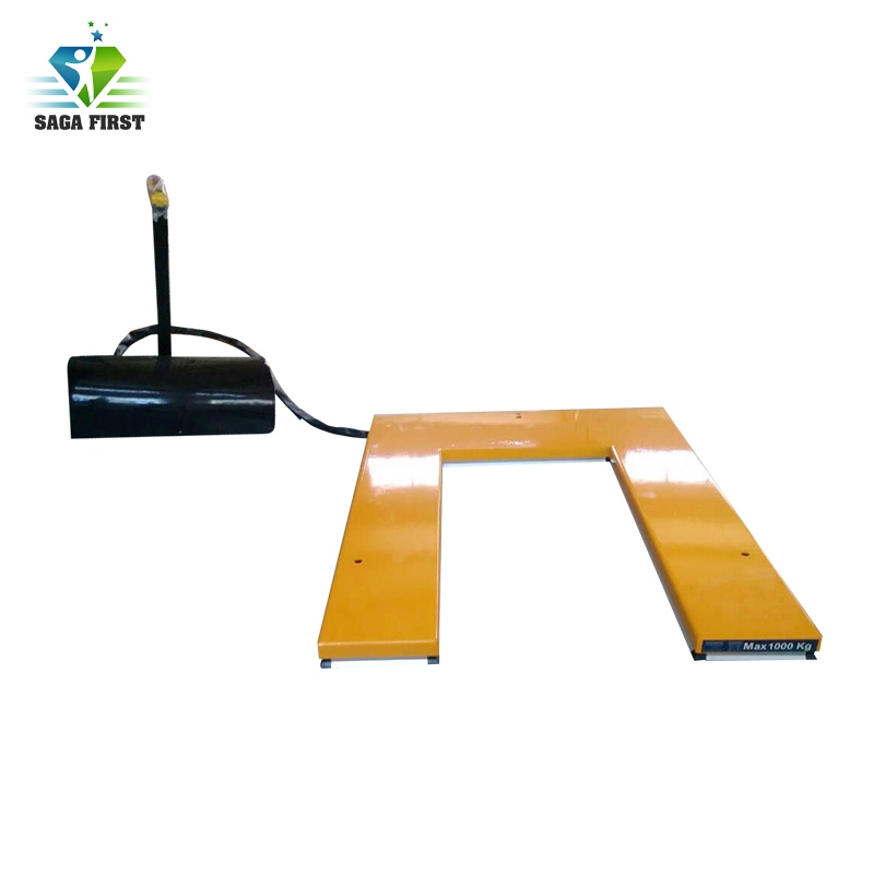Warehouse Use Fixed Scissor Lift Table Lifting Elevator For Machine