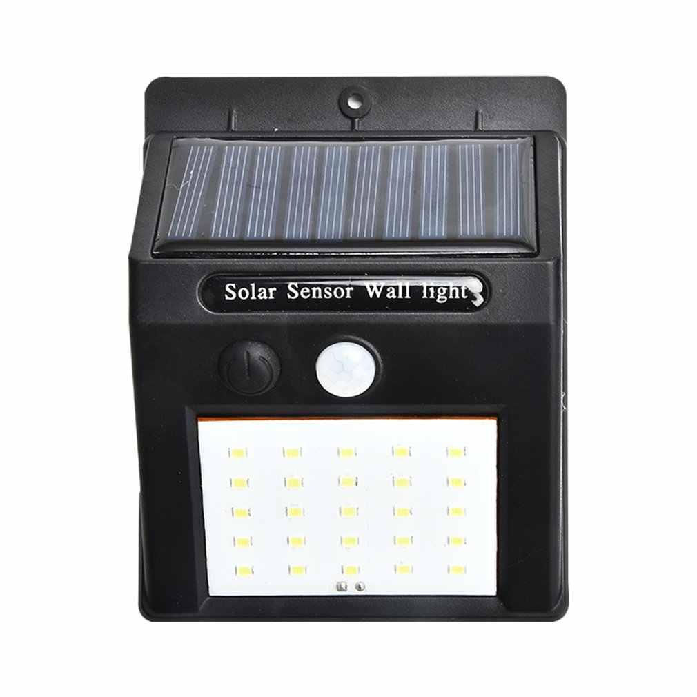 20 LEDs Outdoor Wall Lamp Solar Panel Security Light PIR Motion Sensor Lamp Waterproof Induction Lamp Garden Lamp Dropshipping