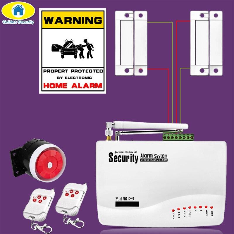 50 pièces APP contrôle sans fil GSM système d'alarme double antenne systèmes d'alarme sécurité maison GSM 850/900/1800/1900MHz langue russe