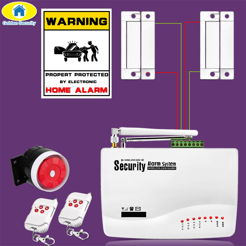 50Pcs APP Control Wireless GSM Alarm System Dual Antenna Alarm Systems Security Home GSM 850/900/1800/1900MHz Russian Language