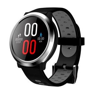 Pulseira inteligente q68 tela colorida ui com medidor de pulso pressão medição relógio suporte pedômetro monitor sono esporte braceletband