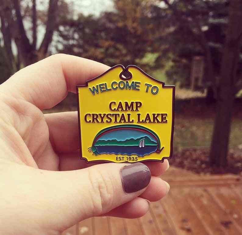 Friday The 13th 'Camp Kristal Lake' Enamel Pin