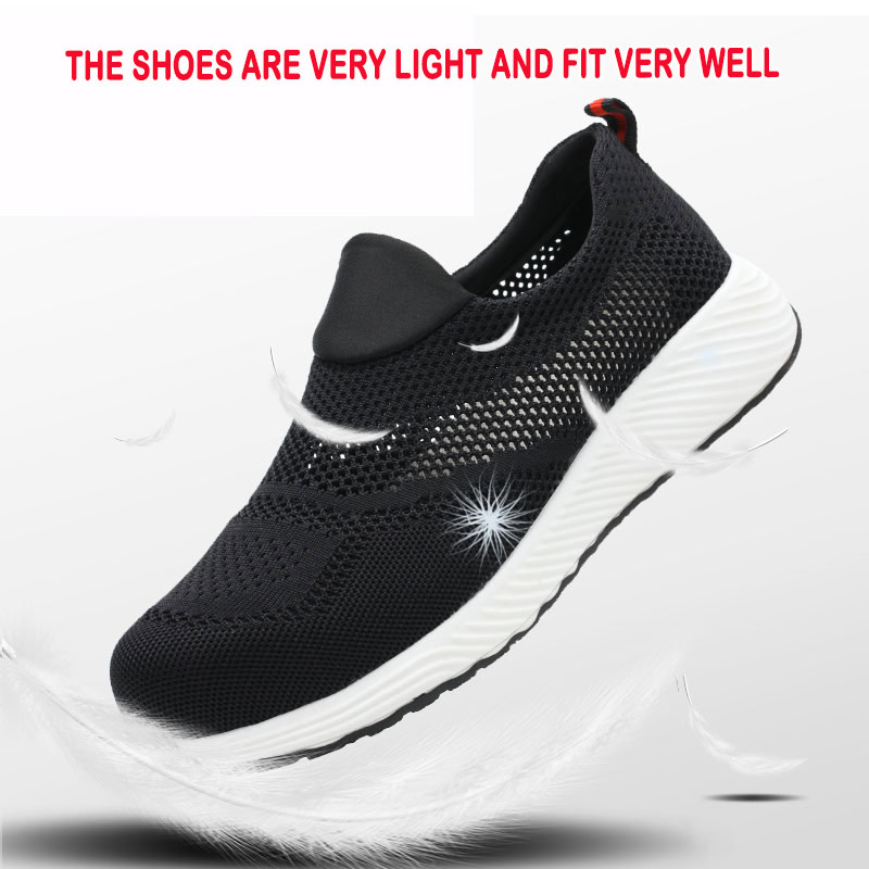 Image 4 - NMSafety Work Safety Shoes Mens Steel Toe Casual Breathable Outdoor Sneakers Puncture Proof Boots Comfortable Industrial ShoesSafety Shoe Boots   -