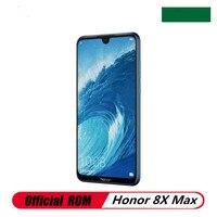 De Honor 8X MAX 4G LTE teléfono móvil Snapdragon 660 huella dactilar 7,12