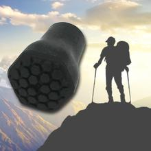 купить 5PCS Trekking Pole Cover Outdoor Tools 4X Rubber Reinforced Tip End Cap Hiking Stick Trekking Pole Covers Climbing Accessory Kit дешево