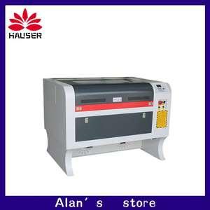 Image 1 - Free shipping 50w 4060 co2 laser engraving machine 220v/100v laser cutter machine laser CNC,High configuration laser engraver