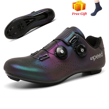 Professional Athletic Bicycle Shoes MTB Cycling Shoes Men Self-Locking Road Bike Shoes sapatilha ciclismo Women Cycling Sneakers 18