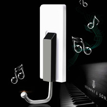piano style key holder wall hook home decoration accessories key hanger coat hanger hooks hanger wall 4pcs/lot free shipping