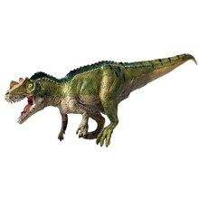Твердая модель динозавра Юрского периода, модель животного, роговой дракон, Корона дракона, модель тиранозавра, игрушка