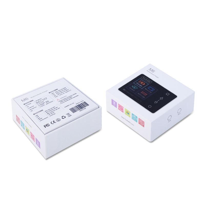ToolkitRC M6 charger 150W 10A 2-6S Mini Pocket Aeromodelling Charger Servo Balance Charger LED for drone battery фото