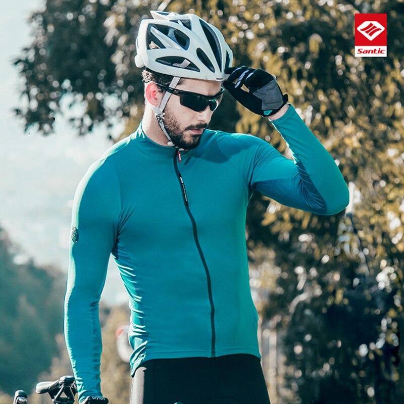 Santic hommes vtt vélo de route vêtements de cyclisme adaptés pour printemps et été automne saison extérieur vélo sweat