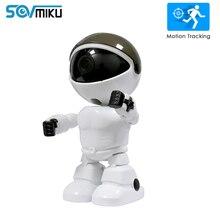 Robot Camera Baby Monitor Night-Vision Home-Security Surveillance-Camera Audio Wifi CCTV