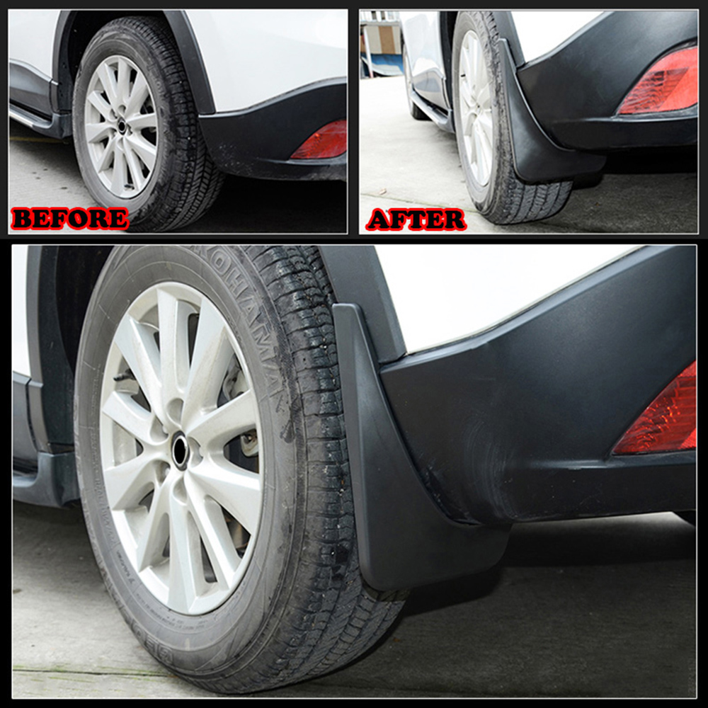 Image 3 - Car Mud Flaps Mudflaps Splash Guards Mud Flap Guard Mudguards Fender Protector For Mazda CX 5 CX5 2012 2013 2014 2015 2016-in Mudguards from Automobiles & Motorcycles
