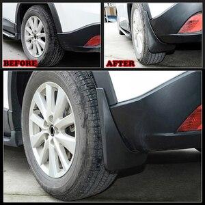 Image 3 - Автомобильные Брызговики защита крыло брызговиков для Mazda CX 5 CX5 2012 2013 2014 2015 2016