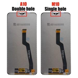 Image 4 - מקורי 6.2 LCD עבור סמסונג גלקסי M10 2019 תצוגת SM M105 M105F M105G/DS מגע מסך Digitizer עצרת + שירות חבילה