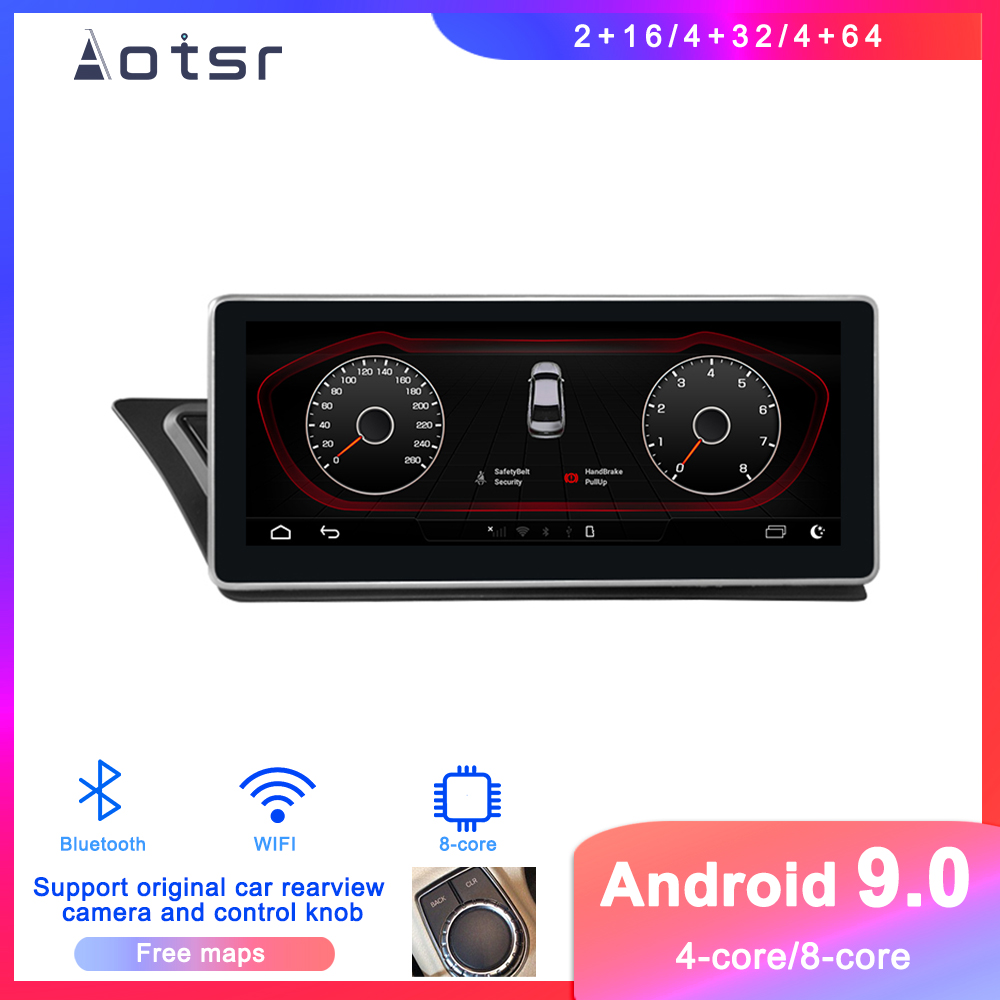 Android 9 Car DVD Player GPS Navigation For Audi A4/A5 2008-2015 Car Auto Radio Stereo Multimedia Player Touch Screen Head Unit