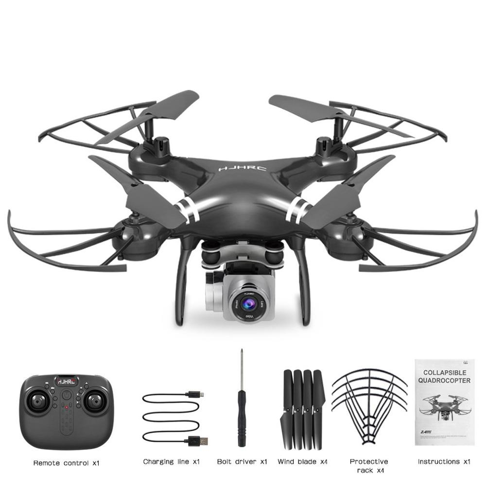 cheapest Four-Axis Aerial Drone Hj14W Hj14Q Remote Control Aircraft Hd Aerial Photography Fpv Shock Absorption Gimbal