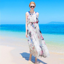 Silk Summer White Dress Women Elegant Beach Long dress Orange Fashion Style High Quality Clothing Free Shipping HOT Selling