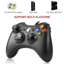 Joystick di vibrazione del Gamepad del regolatore cablato USB per il regolatore di Windows 8/10 per il XBOX 360 Controle per il Joystick del gioco del computer portatile