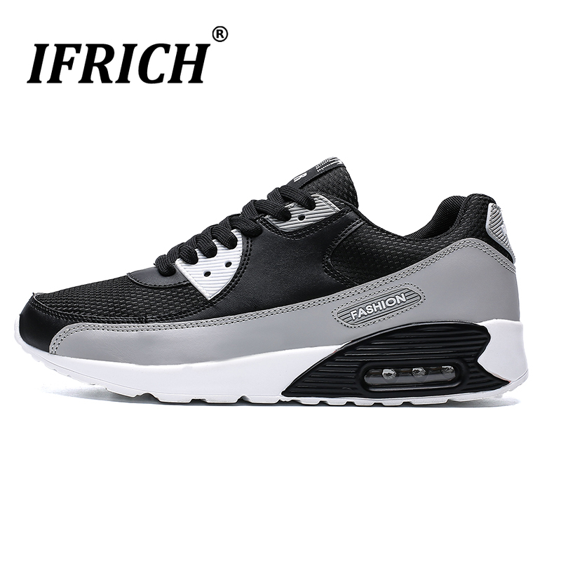 Running Shoes Man Sport Sneakers Air Sole Athletic Shoes For Walking Big Size 39-46 Men Breathable Sneakers Air Runners Cheap