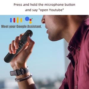 Image 2 - G50S Google Voice Air zdalnego żyroskopu myszy inteligentny Android Tv uniwersalny 2.4G USB bezprzewodowy pilot zdalnego sterowania na podczerwień dla Youtube