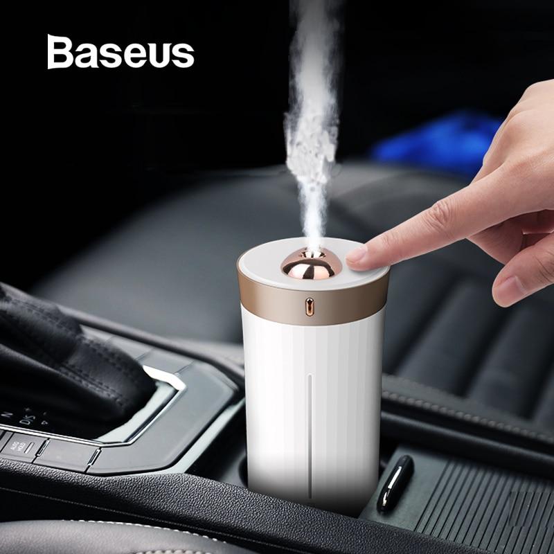Humidificador purificador de aire Baseus para coche, hogar, escritorio, inteligente, 420 ML, gran capacidad, ambientador de difusor de aire para coche