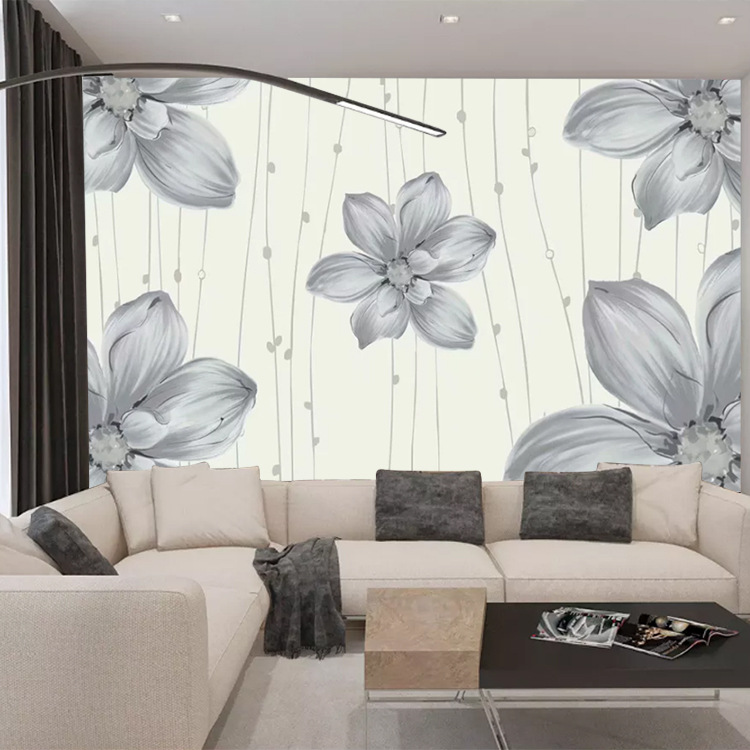 3D Wall Cloth Mural Living Room Seamless Wallpaper Bump Video Wall Bedroom Nonwoven Fabric 5D Stereo TV Background