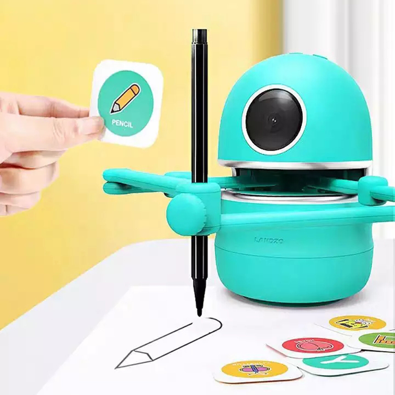 Themes Pictures Drawing Robots Technology  Kids Automatic Painting Learning Art Training Machine Intelligece Puzzle Toys