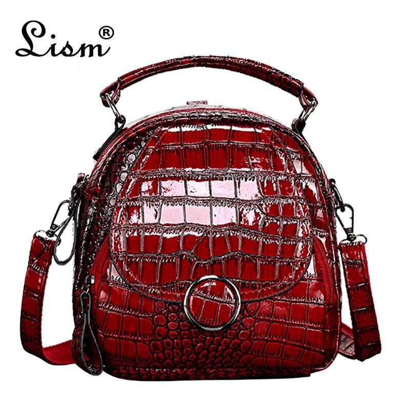 Brand Luxury Crocodile Pattern Package 2019 New Ladies Multi-function Bag Shoulder Messenger Bag Fashion Mini