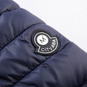 Image 5 - Chaqueta de invierno de talla grande para hombre, prendas de vestir gruesas cortas y cálidas, Softshell, Plumífero, ultraligeros, 5XL, 6XL, 7XL, 8XL