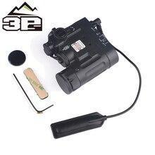 цена на Airsoft Tactical  Weapons Flashlight DBAL-MKII IR Laser LED Torch Multifunction Softair DBAL-D2 Lights Red Laser DBAL-A2 EX328