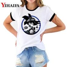Newest Dragon Ball Z T Shirts 3D Print Goku Graphic Tees Women Cartoon Tee Short Sleeve Female Casual Tops shirt