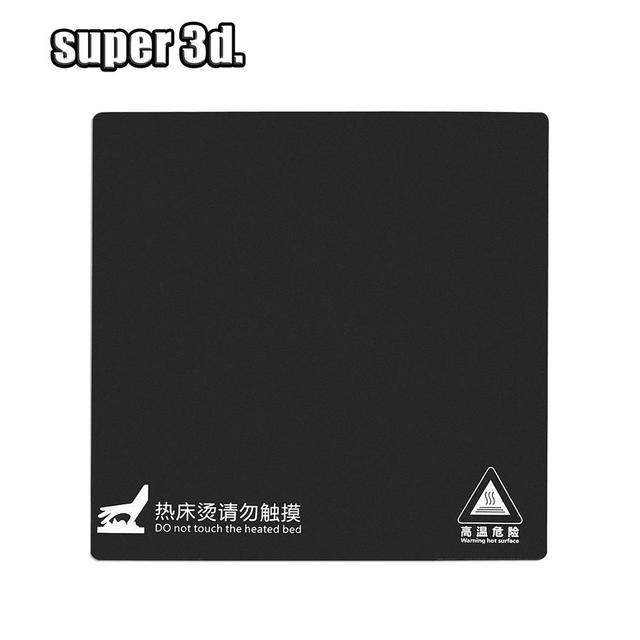 Chaleur chaude lit autocollant 165/214/220/235/310mm impression construire plaque feuille papier avec 3M ruban pour Ender 3/5 Anet A6 A8 3d imprimante