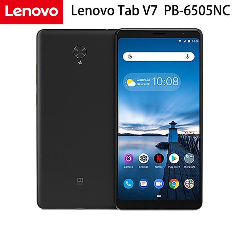 Lenovo Tab V7 PB-6505NC telefon tablet PC Snapdorgon 450 octa-core 4GB Ram 64GB Rom 7 cali 2160*1080 Android 9.0 LTE WiFi GPS