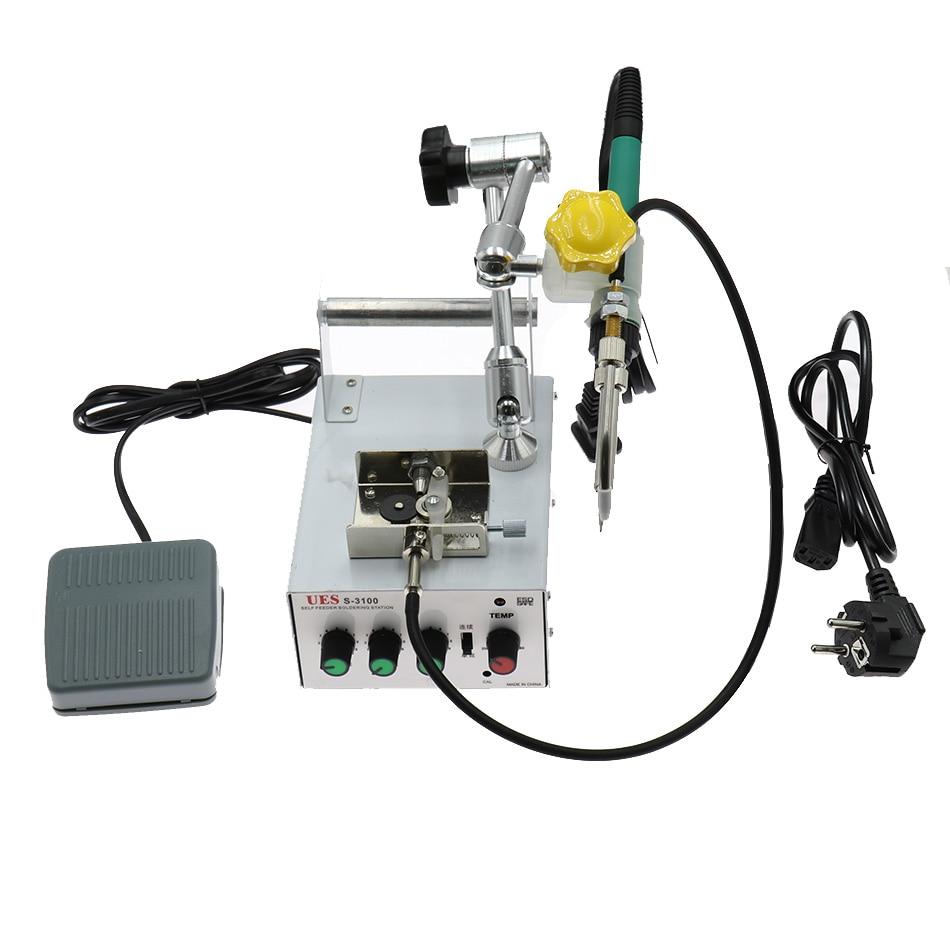 Gun Machine Automatically Spot Iron Heating Soldering Repair 60W Foot Internal Welding 220V Tool Tin  Send