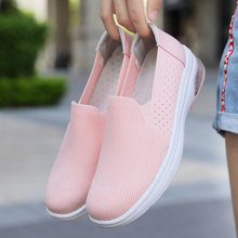 Женские кроссовки на плоской платформе damyuan дышащие сетсветильник