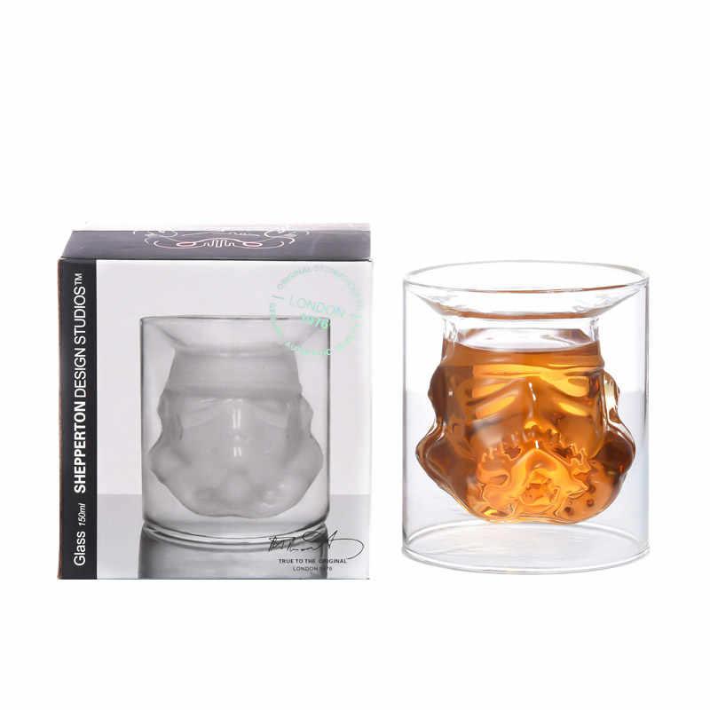 Rượu Vang Bộ Chiến Tranh Giữa Các Vì Sao Storm Trooper Mũ Bảo Hiểm Whiskey Bình Đựng Whisky Ly Rượu Vang Kính Phụ Kiện Sáng Tạo Nam Bộ Quà Tặng