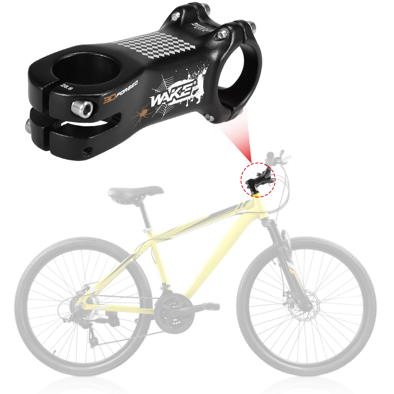 MTB Road Bike Bicycle Adjustable Angle Aluminum Alloy Bike Stem Riser 31.8mm