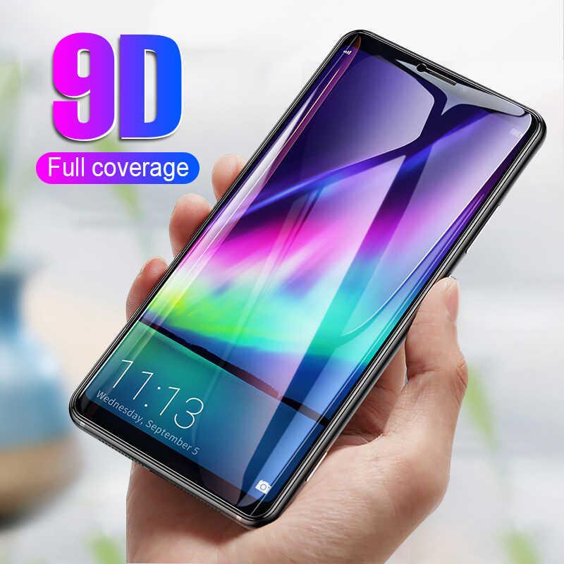 9D изогнутый край Полное покрытие из закаленного стекла для Samsung Galaxy A7 2018 протектор экрана A750 SM-A750F A750F A 7 защитная пленка
