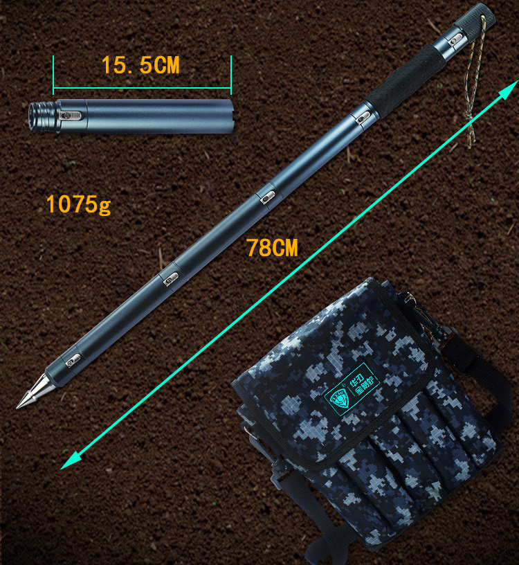 Outdoor Portable Self Defense Stick Defense Tactical Stick Stinger Multifunctional Climbing Stick Camping Hiking Walking Cane