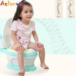 6 месяцев до 8 лет, портативный Детский горшок с имитацией унитаза, обучение для девочек, мальчиков, детей, новорожденных, сиденье для унитаза...