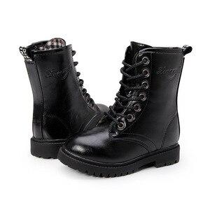 Image 5 - Winter 2019 Big Girls Fashion Boots Kids Boys Riding, Equestrian  Teenagers Children Shoe 4 5 6 7 8 9 10 11 12 13 14 15 16 Years