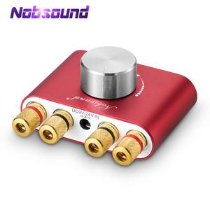 Image 1 - Nobsound Mini Bluetooth 5.0 Digital Amplifier Hifi Stereo Home Audio TPA3116 Power Amplifiers 50W+50W Car amplifiers